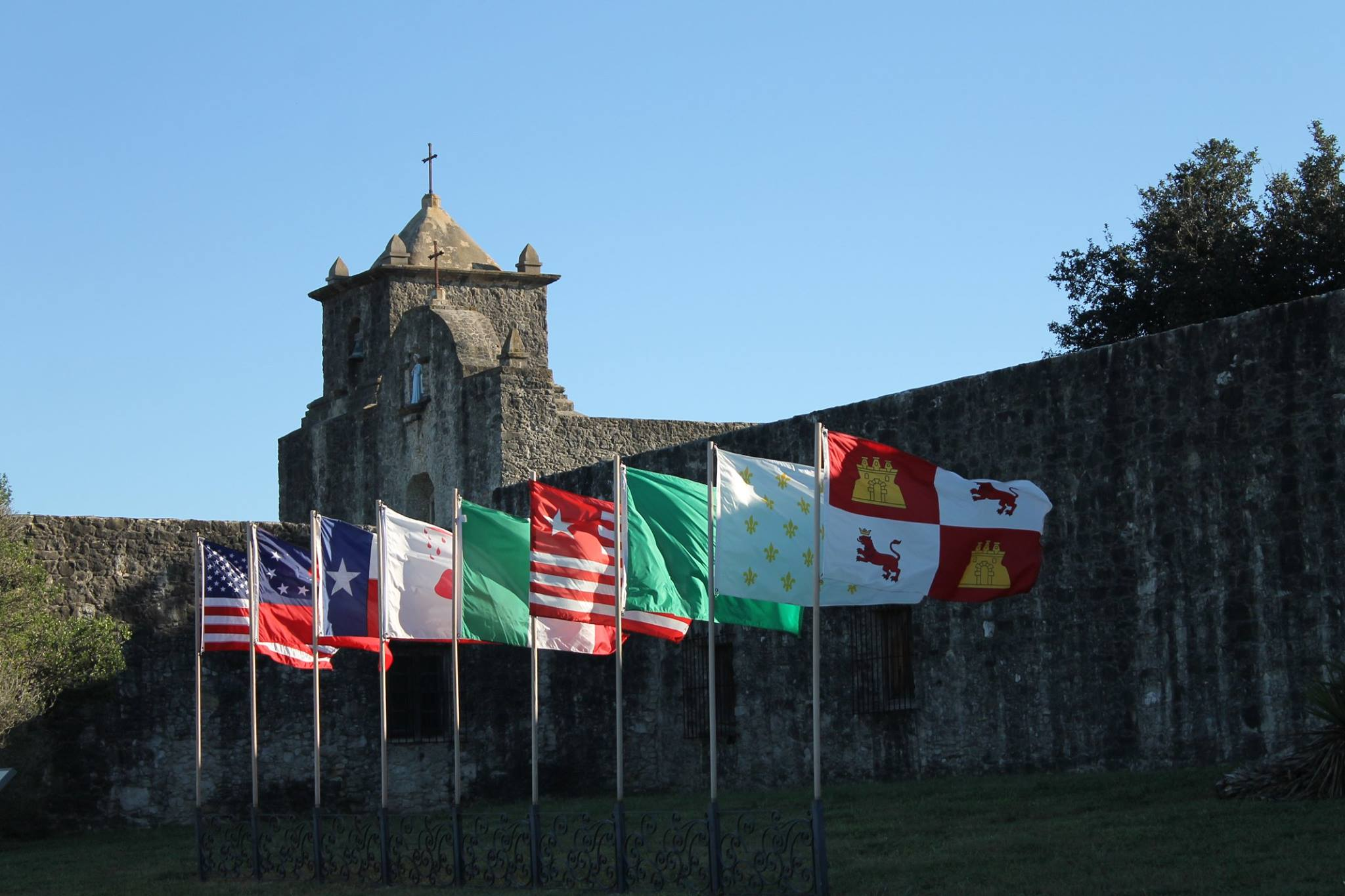 9 Flags Over Goliad Presidio La Bahia